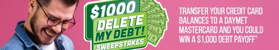 Delete My Debt Sweepstakes